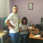 Tolik and Oksana