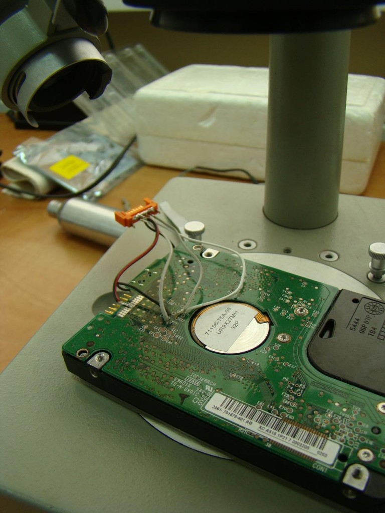 Ремонт внешнего диска своими руками