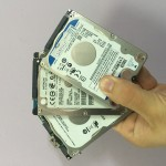 Data recovery of laptop HDD