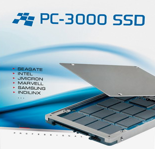 PC3000 SSD flash data recovery equipment